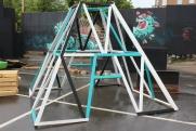 photography: galore2013festival de arte-hamman xxi-arquitectura efímera-copenhague-we-diseñamos -art installation-riopark -instalación artistica -españa