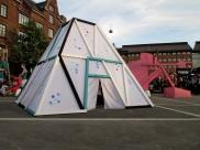 we diseñamos-hamman xxi-arquitectura efímera-copenhague-galorefestival2013 -art installation-riopark -instalación artistica -españa