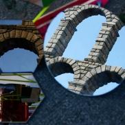 instalacion artística en Segovia - Escuela de Arte y Superior de Diseño de Segovia- artistic installation wediseñamos - España 2014 (2)