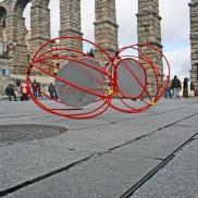 instalacion artística en Segovia - Escuela de Arte y Superior de Diseño de Segovia- artistic installation wediseñamos - España 2014 (3)