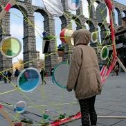 instalacion artística en Segovia - Escuela de Arte y Superior de Diseño de Segovia- artistic installation wediseñamos - España 2014 (4)