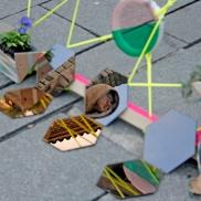 instalacion artística en Segovia - Escuela de Arte y Superior de Diseño de Segovia- artistic installation wediseñamos - España 2014 (6)