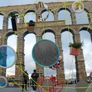 instalacion artística en Segovia - Escuela de Arte y Superior de Diseño de Segovia- artistic installation wediseñamos - España 2014 (7)